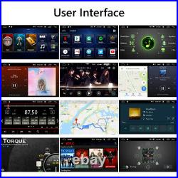 10.1 IPS Large Screen Android 10 2Din Car Stereo Radio GPS Nav Wifi OBDII withCAM