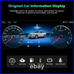10.25Android 10 Autoradio IPS GPS DAB+CarPlay SWC 4G Für Mercedes C-Klasse W204