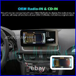 10.25 Car Stereo IPS Android 10 DAB+ Sat Nav CarPlay Wifi DVR BT 4G For Audi Q5
