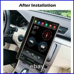 12.2Android 10 IPS Universal Car Stereo CarPlay DSP DAB+Satnav 2Din Tesla Style