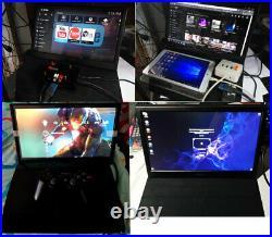 15.6 Touchscreen Portable Monitor 1920x1080 IPS HDMI for Raspberry PS4 Xbox360