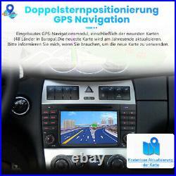 7 Zoll Autoradio GPS Navi DAB+ RDS SWC BT CD FM Für Mercedes Benz C-Klasse W203