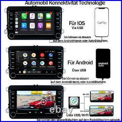 7 Zoll Autoradio IPS Android 10.1 Android Auto Carplay GPS NAVI RDS BT USB DSP