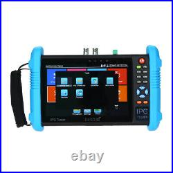 7inch 4K IPC Camera CCTV Tester Monitor CVBS Audio Analog Test Touch Screen LED