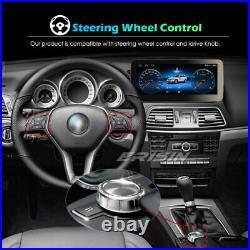 Android 10 IPS 10.25Car Stereo DAB+CarPlay 4G Sat Nav Mercedes E-Class W212 NTG