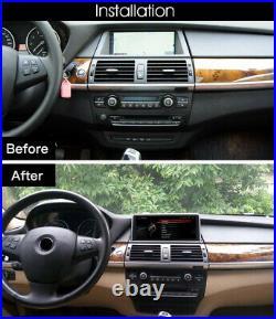 BMW X5 X6 E70 E71 E72 Android 10 4+64GB IPS 4G LTE QUALCOMM SNAPDRAGON 8CORE GPS
