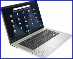 Brand New HP 14a-na0061dx 14 FHD Chromebook intel N4000 4GB 32GB 1080p IPS