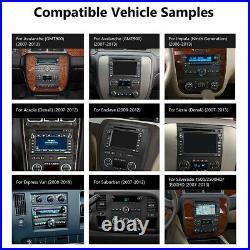 CAM+OBD+DVR+Android 10 8 IPS Car Stereo Radio GPS Nav CarPlay For Chevrolet GMC