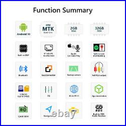 CAM+OBD+IPS Android10 Best Car Stereo Radio Apple CarPlay GPS For VW Golf/Passat