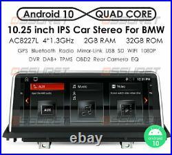 Car Radio for BMW X5 E70 CCC Android 10.0 DAB Bluetooth WiFi SatNav IPS 10.25