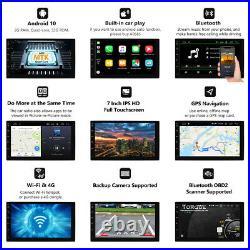DVR+OBD+Eonon 7 IPS Double 2Din Android 10 Car Radio Audio Stereo GPS Bluetooth