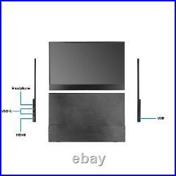 ElectriQ eiQ-15FHDPMT 15.6 IPS Full HD HDR Touch Screen USB-C Portable Monitor