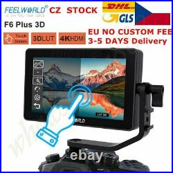 FEELWORLD F6 Plus 5.5 IPS Touch Screen 3D Video Camera DSLR Monitor 4K HDMI