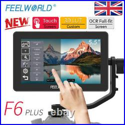 Feelworld F6 Plus 5.5 IPS Touch Screen On Camera Field Monitor for Cam Gimbal