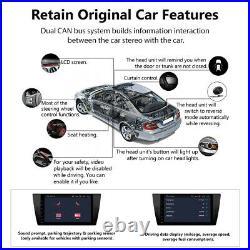 For BMW E90 E91 E92 E93 Android 10 Car Stereo 9 IPS GPS Sat Nav DSP DAB CarPlay