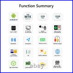 GA9450B For BMW E46 M3 Radio Android 10 GPS Sat Nav Car Stereo 9IPS DSP CarPlay