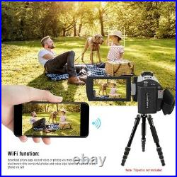 HDR-AE8 4K 16X Zoom 3.0inch IPS HD Touch Screen 2.0 USB Interface Digital Camera