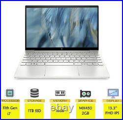 HP Envy 13-BA1565SA 13.3 IPS Touch 11th Gen i7 16GB RAM 1TB SSD 2GB Graphics