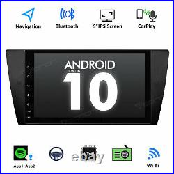 Head Unit 9 Android 10.0 Car Stereo GPS Sat Nav Radio IPS For BMW E90/91/92 CCC