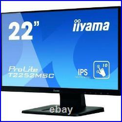 Iiyama PROLITE T2252MSC-B1 22 Full HD IPS 10pt Desktop Capacitive Touch-Screen
