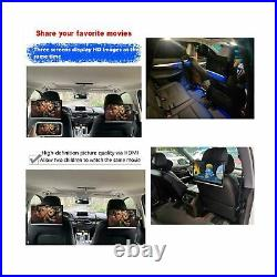 Kaskawise 12.5 Car Headrest Video Player WiFi Android 9.0 TV Monitor Tablet IPS