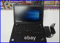 Lenovo ThinkPad RefurbishX280 Intel i7-8650U 16GB RAM 512GB IPS TOUCHSCREEN