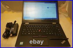 Lenovo ThinkPad X1 Yoga i7-6600U 2.6GHz 256GB SSD 16GB IPS TouchScreen BT FPR