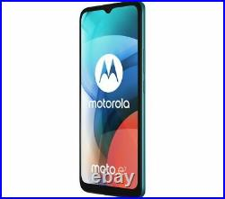 MOTOROLA Moto E7 Mobile Smart Phone 32 GB, Aqua Blue Currys