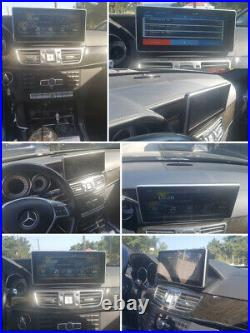Mercedes W212 Gps 4+64gb Android 10 Qualcom 8core Multimedia Head Unit Ips Panel