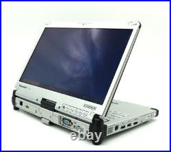 Panasonic Toughbook CF-C2 MK1 4GB 500GB Convertible-Tablett HDMI WEB OBD IPS