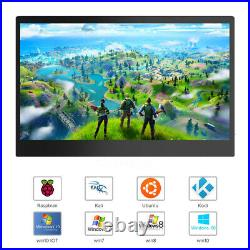 Portable 13.3 Touchscreen Game Monitor Second Screen for HD Raspberry Pi 4 3