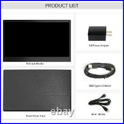 Portable Monitor 13.3 Inch Touch Screen 1920×1080 Full HD IPS Display for PC MAC