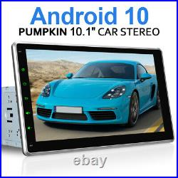Pumpkin 10.1 IPS Screen Android 10.0 Double DIN Car Stereo GPS BT DAB OBD2 WiFi