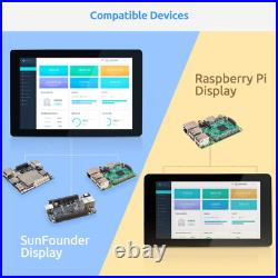 Raspberry Pi 10 Inch Touch Screen SunFounder 10.1 HDMI 1280x800 IPS LCD