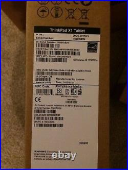 Thinkpad X1 2IN1 12 FHD+(2160x1440) IPS Touch/8GB/256GB SSD/Win10P Pen, Sealed
