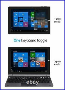 Touchscreen Laptop 4GB DDR3 RAM 64GB SSD 10.1 inch Intel Quad Core IPS Display