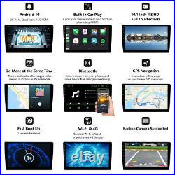 US GA2187 10 IPS Digital Monitor 2DIN Bluetooth GPS Android 10 Car Stereo Radio